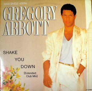 Gregory Abbott: Shake You Down - Cover