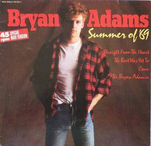 Bryan Adams: Summer Of '69 - Cover