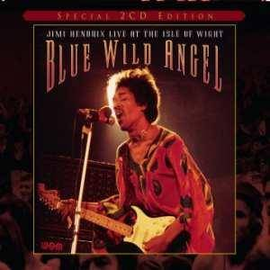 Jimi Hendrix: Blue Wild Angel: Jimi Hendrix Live At The Isle Of Wight - Cover