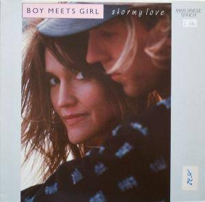 Cover - Boy Meets Girl: Stormy Love