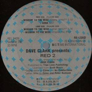 Cover - Dave Clarke: Red 2