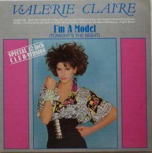 Valerie Claire: I'm A Model - Cover