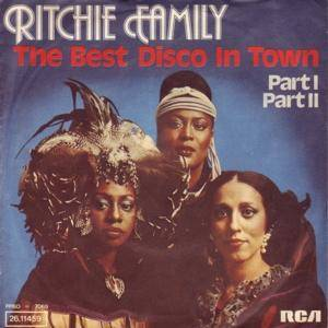 The Ritchie Family: Best Disco In Town, The - Cover
