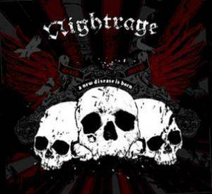 Nightrage: New Disease Is Born, A - Cover