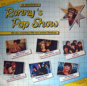 Brandneue Ronny's Pop Show Vol. 03, Die - Cover