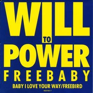 Cover - Will To Power: Freebaby EP