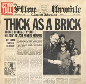 Jethro Tull: Thick As A Brick - Cover