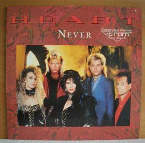 Heart: Never - Cover