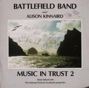 Battlefield Band And Alison Kinnaird: Music In Trust 2 - Cover