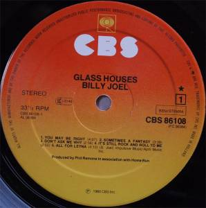 Billy Joel: Glass Houses (LP) - Bild 5