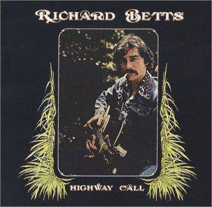 Richard Betts: Highway Call - Cover