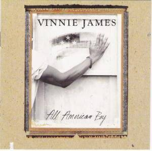 Cover - Vinnie James: All American Boy