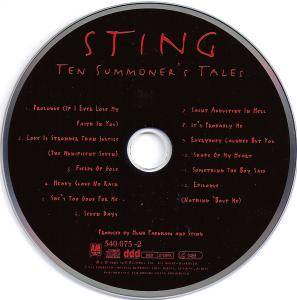 Sting: Ten Summoner's Tales (CD) - Bild 5