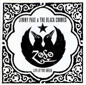 Jimmy Page & The Black Crowes: Live At The Greek - Cover