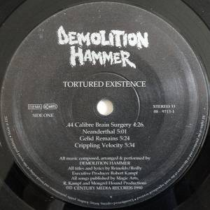 Demolition Hammer: Tortured Existence (LP) - Bild 3