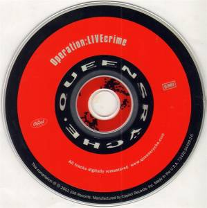 Queensrÿche: Operation: Livecrime (CD) - Bild 2
