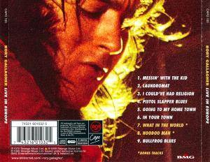 Rory Gallagher: Live! In Europe (CD) - Bild 3