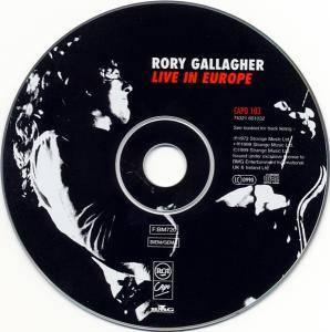 Rory Gallagher: Live! In Europe (CD) - Bild 5