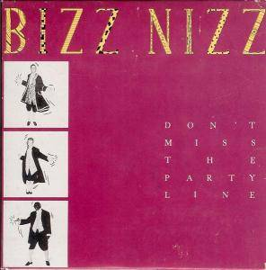 Bizz Nizz: Don't Miss The Partyline - Cover