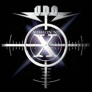 U.D.O.: Mission No. X - Cover
