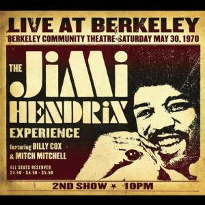 The Jimi Hendrix Experience: Live At Berkeley - Cover