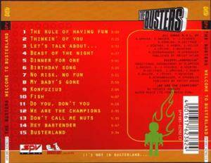 The Busters: Welcome To Busterland (CD) - Bild 2