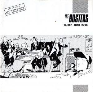 The Busters: Ruder Than Rude - Cover