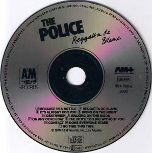 The Police: Reggatta De Blanc (CD) - Bild 3