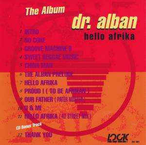Dr. Alban: Hello Afrika - The Album (CD) - Bild 2
