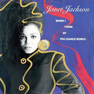 Janet Jackson: When I Think Of You - Cover