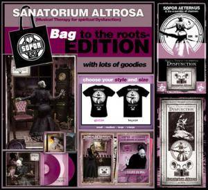 Sopor Aeternus & The Ensemble Of Shadows: Sanatorium Altrosa - Cover