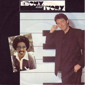 "Paul McCartney & Stevie Wonder / Paul McCartney: Ebony And Ivory (Split-7"") - Bild 1"