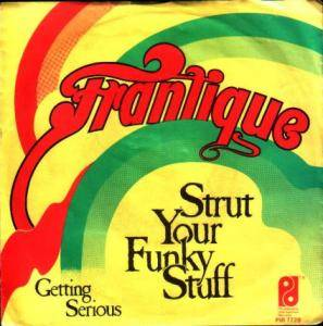 Cover - Frantique: Strut Your Funky Stuff