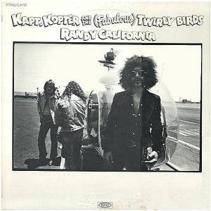 Randy California: Kapt. Kopter And The (Fabulous) Twirly Birds - Cover