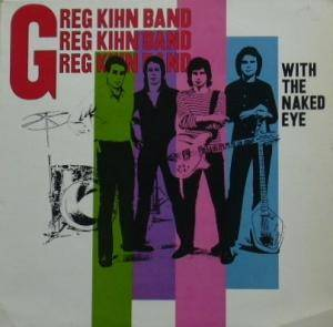 Cover - Greg Kihn Band: With The Naked Eye