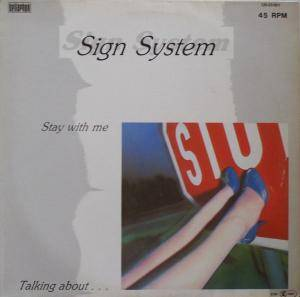 Sign System: Stay With Me - Cover