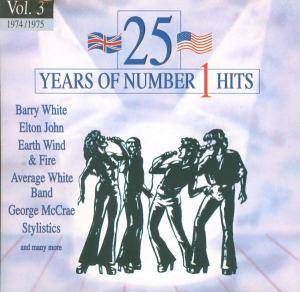 25 Years Of Number 1 Hits - Vol. 03 1974/1975 - Cover