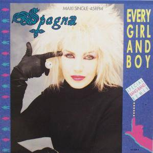 Spagna: Every Girl And Boy - Cover