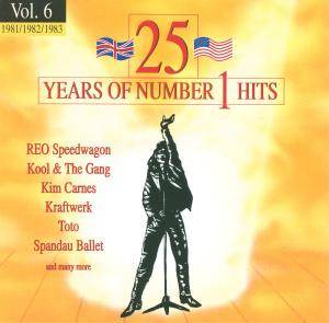 Cover - Patti Austin & James Ingram: 25 Years Of Number 1 Hits - Vol. 06 1981/82/83