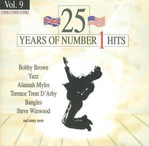 25 Years Of Number 1 Hits - Vol. 09 1988/89/90 - Cover