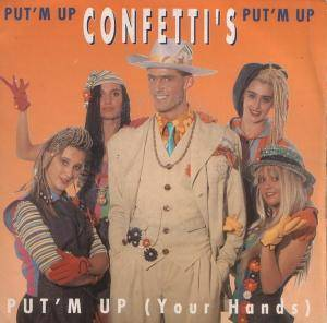 Cover - Confetti's: Put 'M Up (Your Hands)