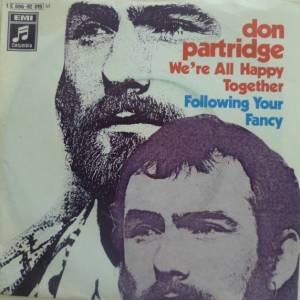 Cover - Don Partridge: We're All Happy Together