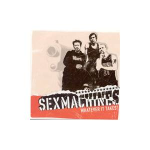 Cover - Sexmachines, The: Whatever It Takes!