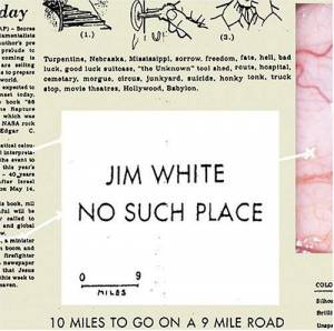 Cover - Jim White: No Such Place
