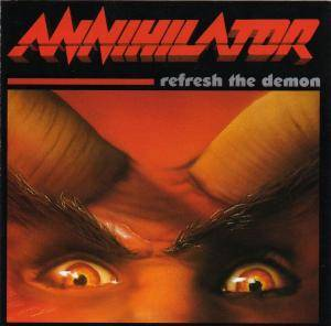 Annihilator: Refresh The Demon - Cover