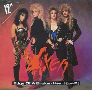 Vixen: Edge Of A Broken Heart - Cover