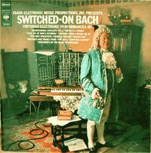 Johann Sebastian Bach: Switched-On Bach - Cover
