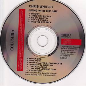 Chris Whitley: Living With The Law (CD) - Bild 3