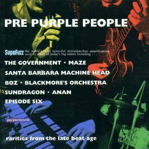 Cover - Maze, The: Pre-Purple People