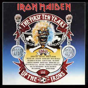 Iron Maiden: First Ten Years, The - Cover
